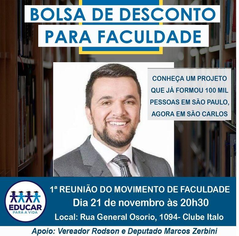 Movimento para ingressar em universidades será lançado em São Carlos -