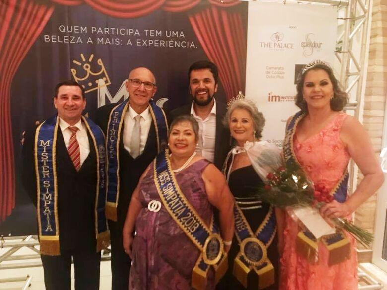 Rodson prestigia o concurso Miss e Mister Terceira Idade - Crédito: Divulgação