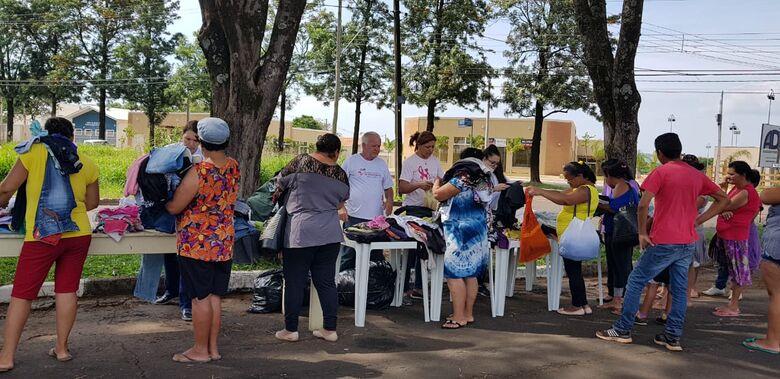 Projeto itinerante atende moradores do distrito de Água Vermelha - Crédito: Divulgação