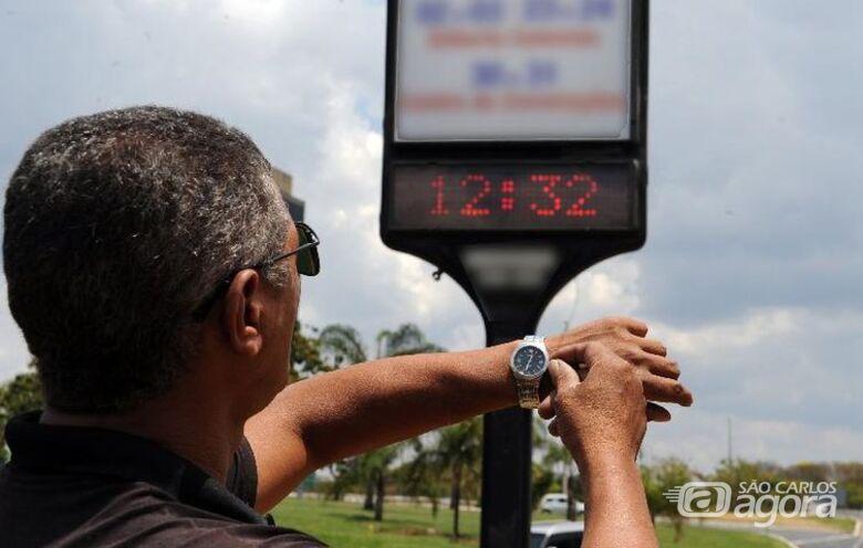 Horário de verão começa à meia-noite deste sábado - Crédito: Agência Brasil
