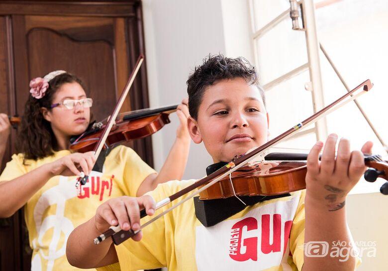 Projeto Guri oferece mais de 1.200 vagas para cursos de música na região de São Carlos - Crédito: Gustavo Morita