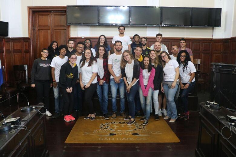 Projeto Visite a Câmara recebe alunos do Centro Educacional Sesi 407 - Crédito: Divulgação