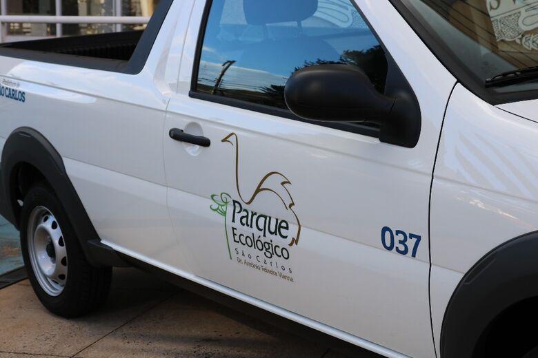 Parque Ecológico ganha novo veículo utilitário - Crédito: Divulgação