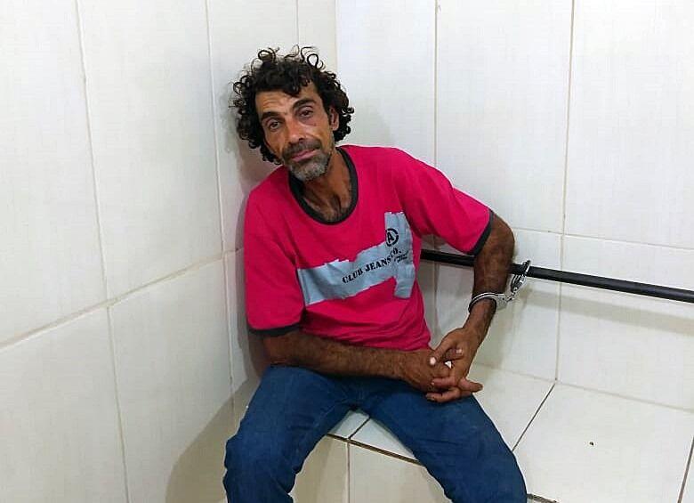 Após arrombar doceria, ladrão é detido pela PM - Crédito: Arquivo/SCA