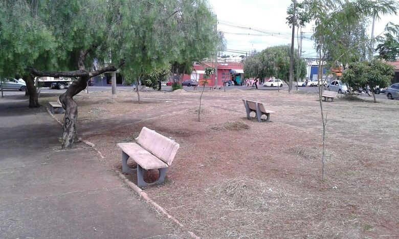 Através de solicitações Malabim, praças são limpas no Paulistano e Jardim Hikare - Crédito: Divulgação
