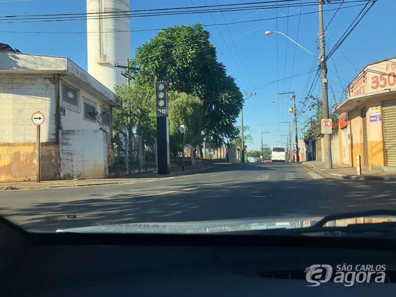 Semáforo em cruzamento na Vila Nery entra em operação nesta quarta-feira - Crédito: Arquivo SCA