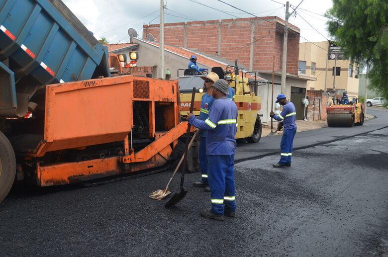 Prefeitura promete recapear 136 mil metros quadrados de vias no Santa Felícia e Vila Elisabeth - Crédito: Divulgação