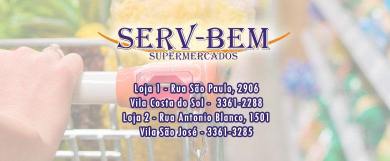 Confira as ofertas desta semana do supermercado SERV-BEM -