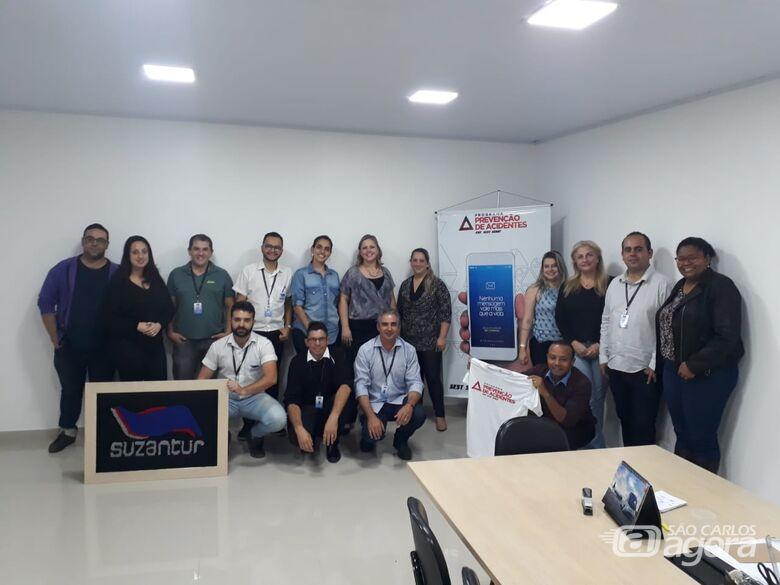 Técnico do SEST SENAT visita Suzantur São Carlos - Crédito: Divulgação