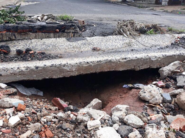 Sérgio Rocha quer tapa-buracos no Santa Felícia e Santa Angelina - Crédito: Divulgação