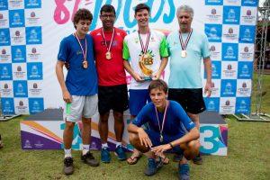 Tênis dourado para São Carlos no masculino sub20 - Crédito: Divulgação