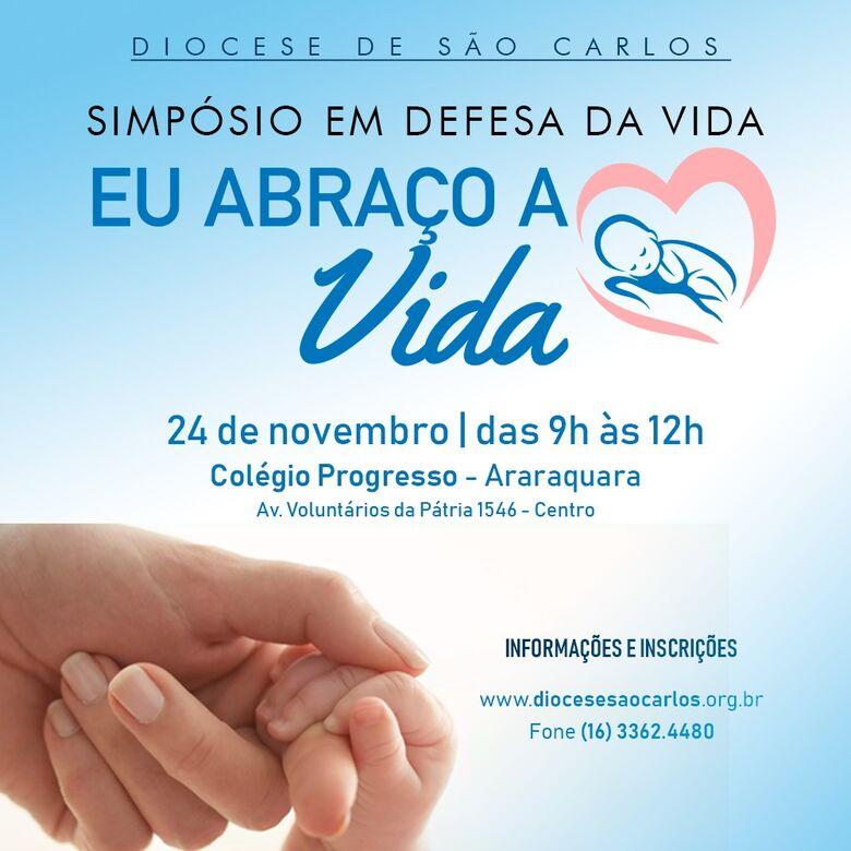 Diocese de São Carlos promoverá Simpósio em Defesa da Vida -