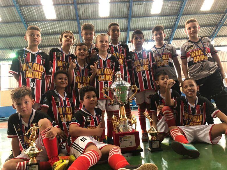 Multi Esporte conquista 2 títulos e 1 vice na Super Copa Paulista Sul - Crédito: Divulgação