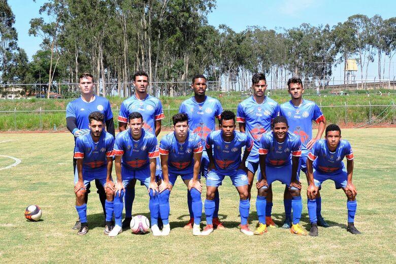 Grêmio Sãocarlense participa de jogo beneficente no Paraná neste domingo - Crédito: Gustavo Curvelo/Divulgação