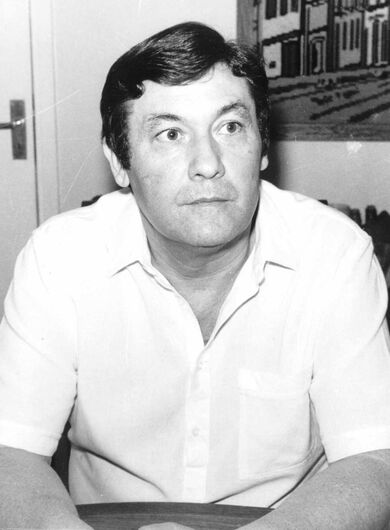 Geraldo Eugênio - locutor e industrial apaixonado pela comunicação - Crédito: Acervo digital da FPMSC