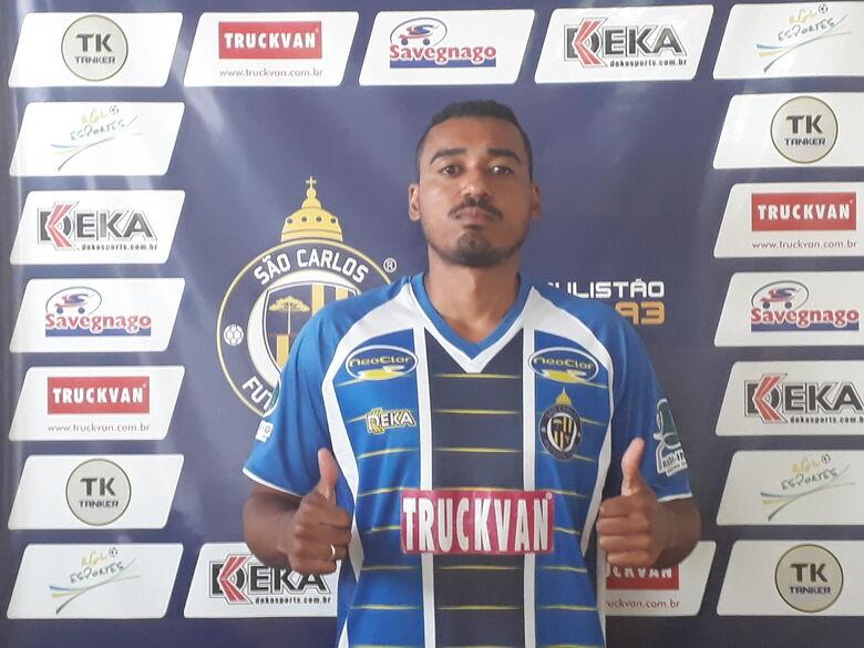 Diego é o novo zagueiro do São Carlos para 2019 - Crédito: Divulgação