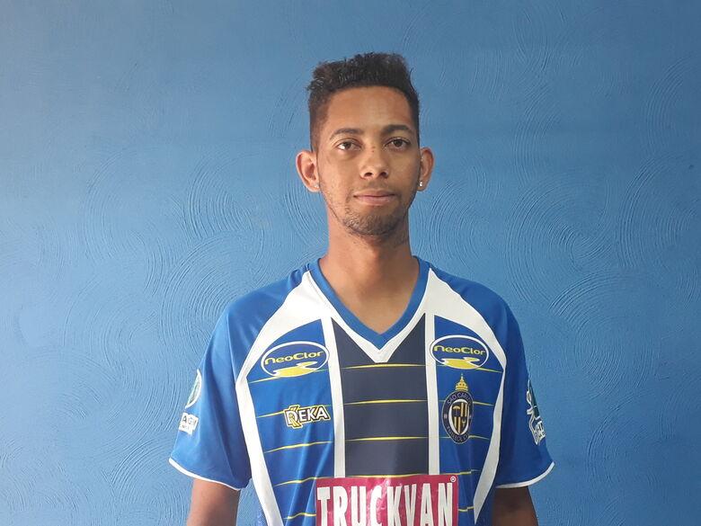 São Carlos confirma contratação do atacante Érik - Crédito: Divulgação