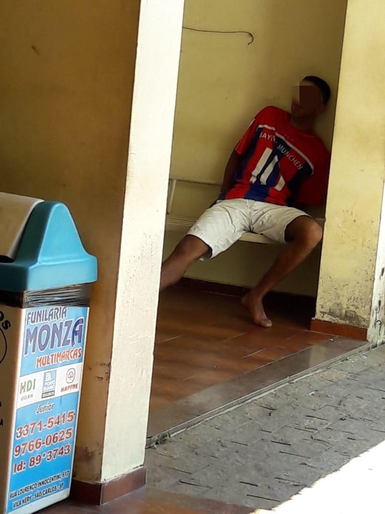 Vizinho briguento é detido com celular roubado e tenta subornar autoridade policial - Crédito: Maycon Maximino