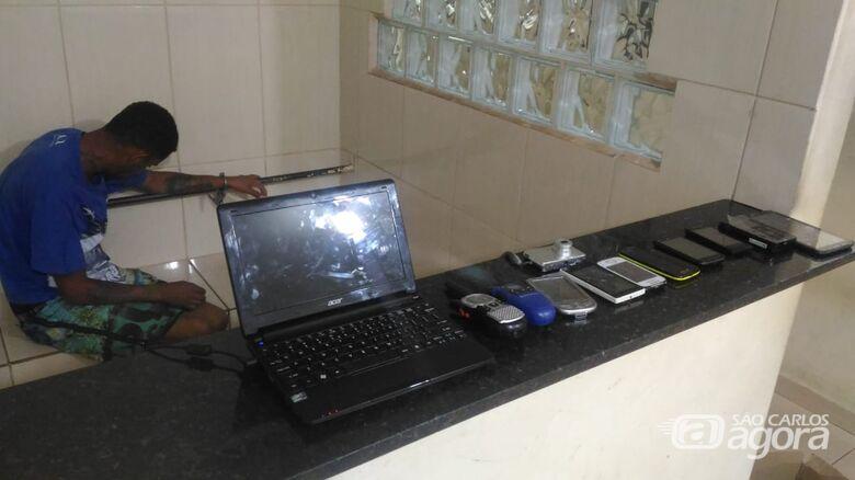 Integrante do PCC é detido no Zavaglia com entorpecentes - Crédito: Luciano Lopes