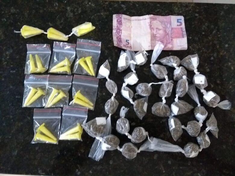 Desocupado é detido com drogas no Jardim Medeiros - Crédito: Maycon Maximino