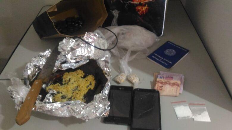 Desocupado é detido com crack em casa na Vila Pureza - Crédito: Divulgação