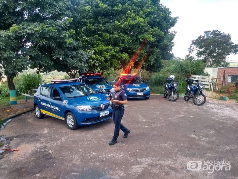 Guarda Municipal encontra grande quantidade de drogas no Medeiros - Crédito: Divulgação
