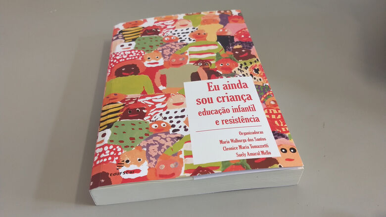 Livro lançado pela EdUFSCar aborda a Educação Infantil - Crédito: Divulgação
