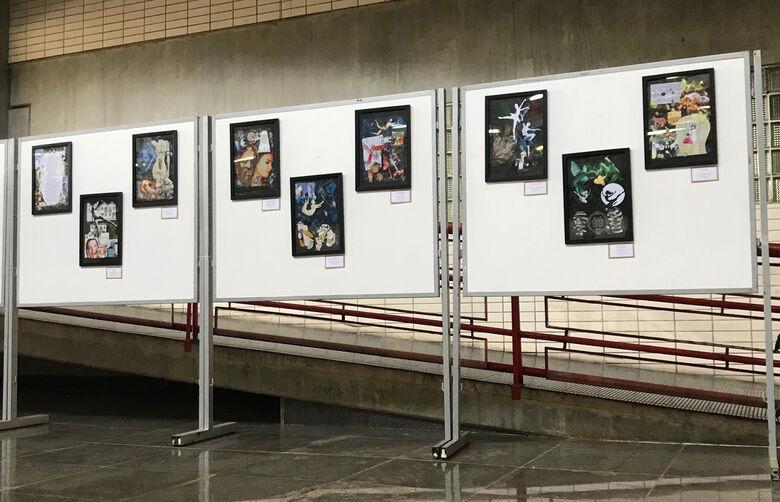 Biblioteca Comunitária da UFSCar apresenta exposições de pinturas e colagens - Crédito: Adriana Arruda/CCS-UFSCar