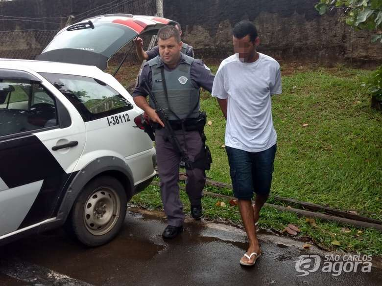 Autor de furto a loja no Centro é identificado e preso - Crédito: Luciano Lopes
