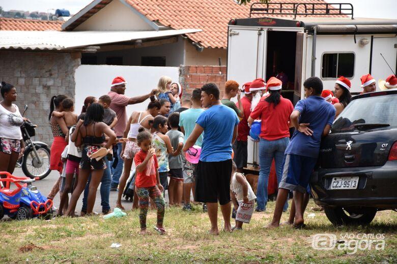 Jardim Zavaglia recebe a Carreata Sertaneja Criança Feliz - Crédito: Lau Menezes