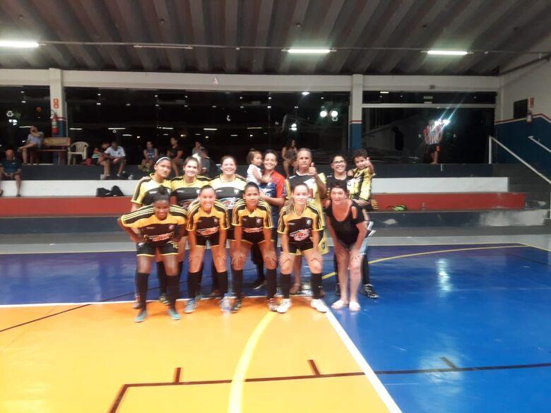 Deportivo Sanka goleia Ibaté e está na final do campeonato de futsal feminino - Crédito: Marcos Escrivani