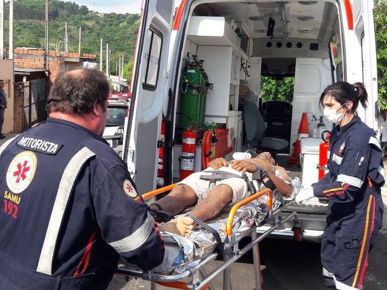 Motoqueiros tentam matar homem a tiros no Antenor Garcia - Crédito: Maycon Maximino