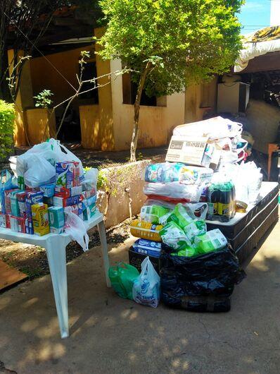 Comunidade Missionária Divina Misericórdia recebe doações de campanha solidária - Crédito: Marcos Escrivani