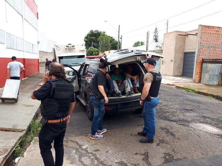 Operação conjunta termina com a prisão de 40 pessoas em São Carlos e região - Crédito: Divulgação