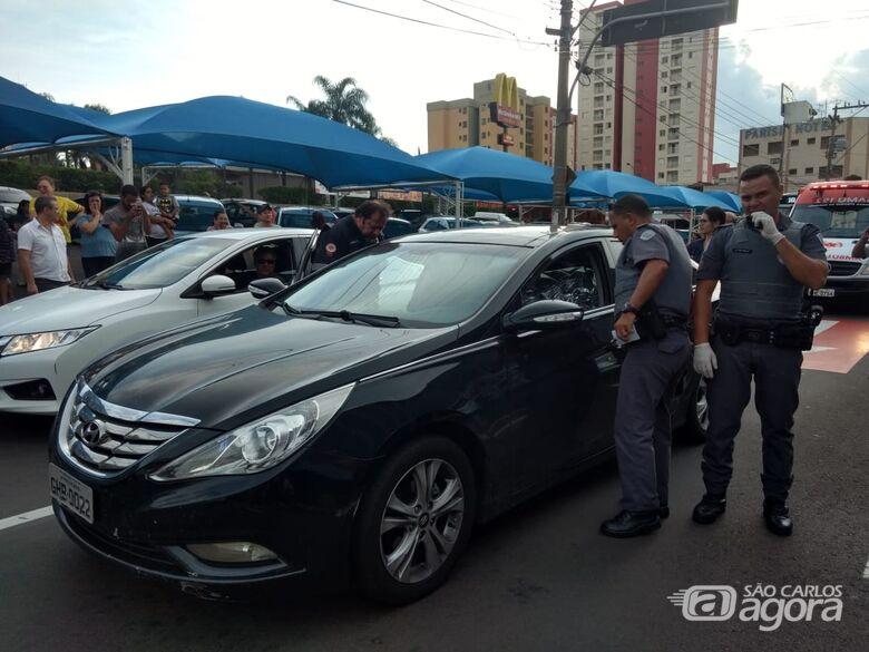 Briga de trânsito termina em morte na região da rodoviária - Crédito: Luciano Lopes