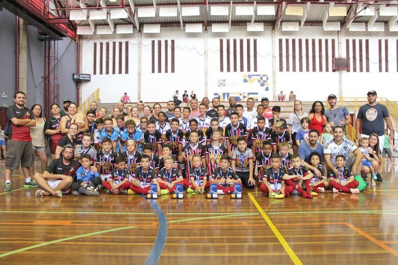 Multi Esporte é campeão três vezes na Copa Sesc - Crédito: Divulgação