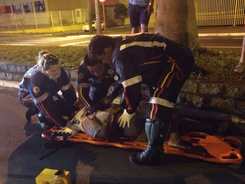 Garoto é atropelado por moto na Getúlio Vargas - Crédito: Luciano Lopes