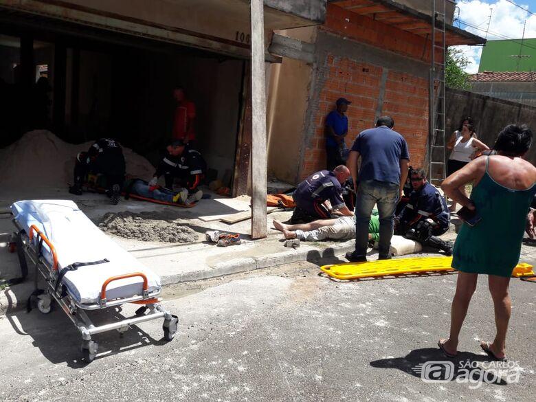 Pai e filho ficam feridos em grave acidente no Jardim Munique - Crédito: Maycon Maximino