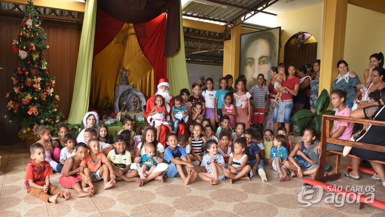 Pastorais da Criança e da Caridade reúnem 120 pessoas em almoço de confraternização - Crédito: Lau Menezes