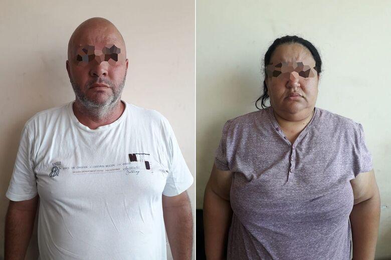 Casal procurado pela Justiça por estelionato é preso no Jockey Clube - Crédito: Divulgação