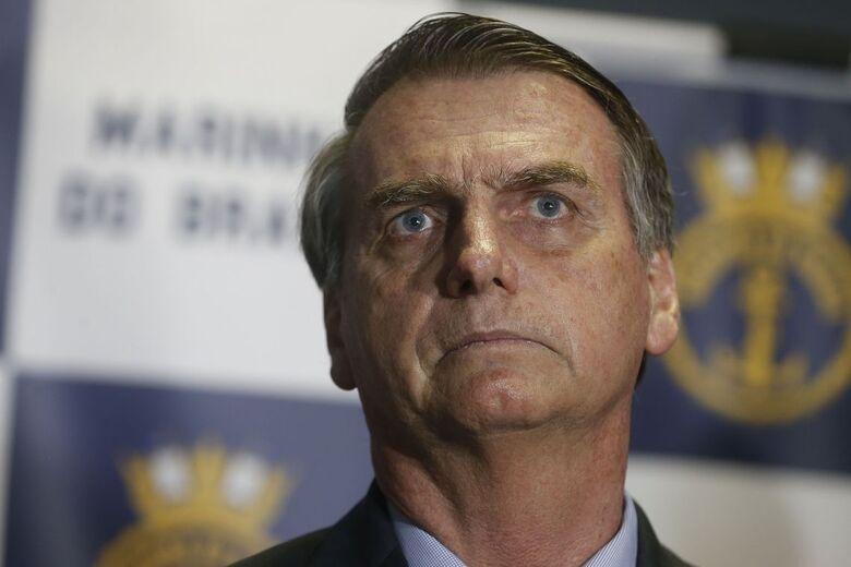 CNI/Ibope: para 75% dos brasileiros, Bolsonaro está no caminho certo - Crédito: Tânia Rego/Agência Brasil