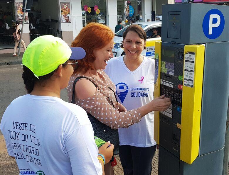 Estapar e Prefeitura de São Carlos realizam Dia do Estacionamento Solidário -
