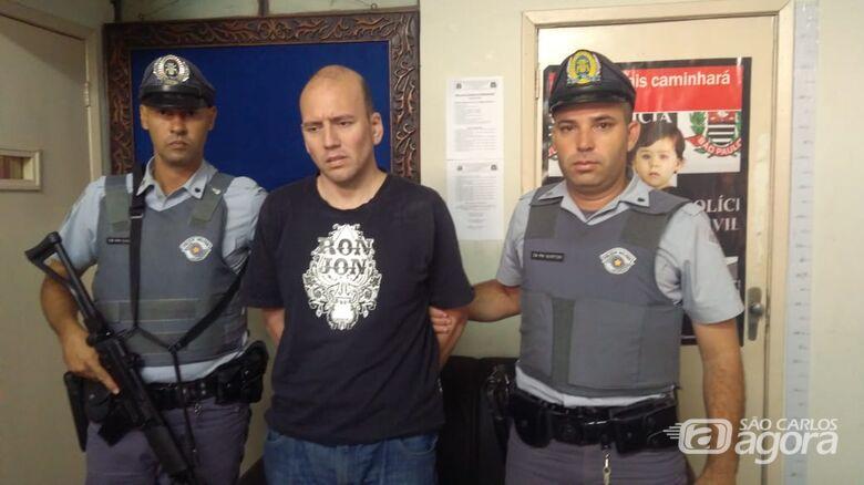 Assassino de tatuador é preso na divisa com o Mato Grosso do Sul - Crédito: Divulgação