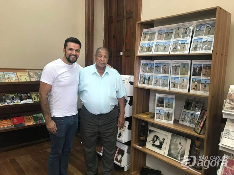 """Vereador Rodson visita exposição """"Fronteiras do Baú"""" - Crédito: Divulgação"""