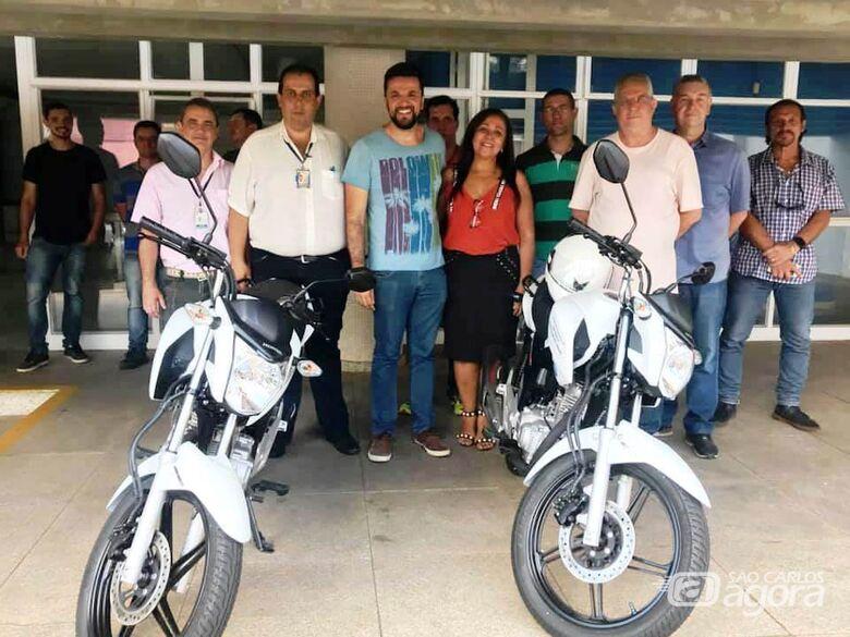 Vereador Rodson conquista motocicleta para o setor de fiscalização da Prefeitura - Crédito: Divulgação