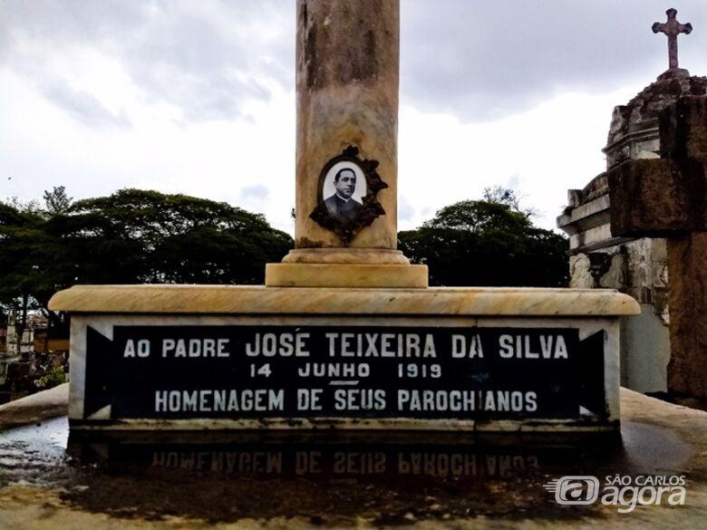 Padre Teixeira, um padroeiro honorário - Crédito: Divulgação