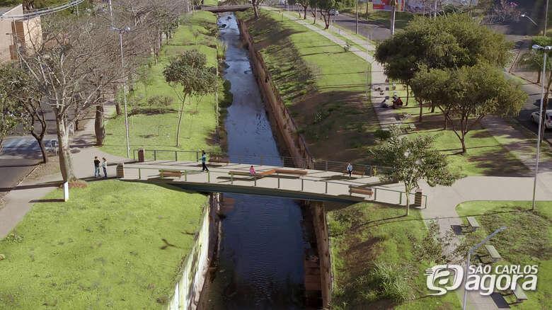 Obras para construção de passarelas sobre Gregório começam nos próximos dias - Crédito: Divulgação