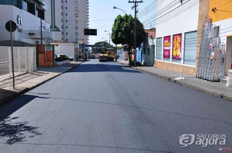Ruas e avenidas de São Carlos serão recapeadas - Crédito: Divulgação
