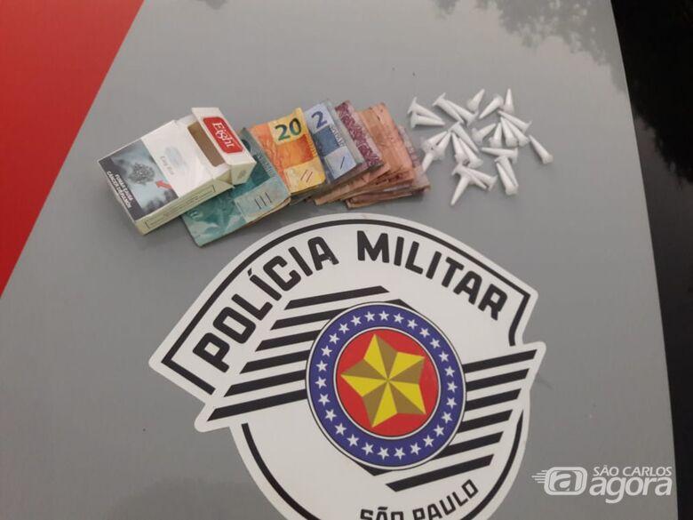 Homem é detido por tráfico no Santa Angelina - Crédito: Maycon Maximino