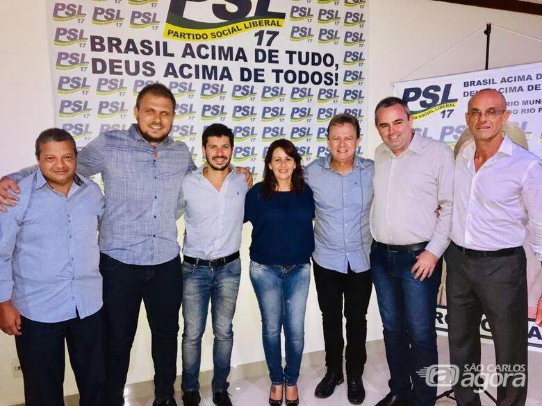 PSL promove encontro e anuncia chapa completa nas próximas eleições - Crédito: Divulgação